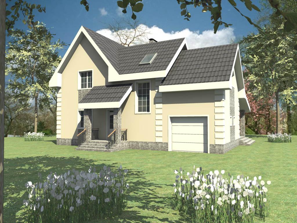 Готовый Проект Дома С Чертежами Бесплатно
